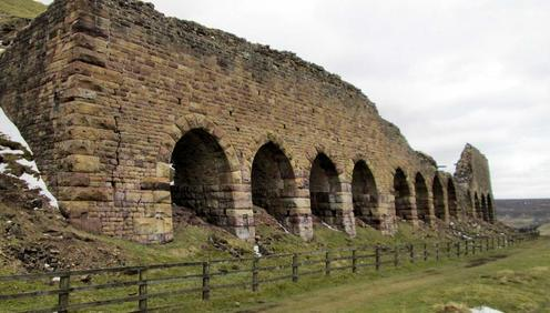 The old Rosedale iron mine kilns